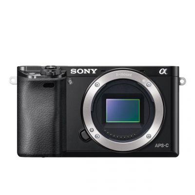 Fotocamera Sony Alpha ILCE-6000 Body solo corpo Nero [MENU ENG] A6000