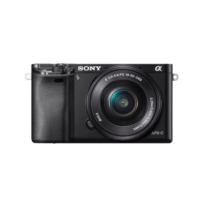 Fotocamera Sony Alpha ILCE-6000L Kit 16-50mm f/3.5-5.6 OSS Nero (MENU ENG)
