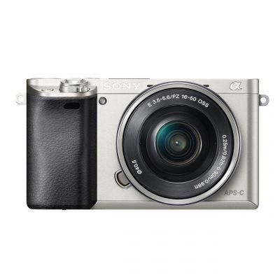 Fotocamera Sony Alpha ILCE-6000L Kit 16-50mm Argento Silver (MENU ENG) 6000