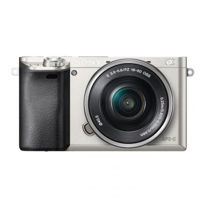 Fotocamera Sony Alpha ILCE-6000L Kit 16-50mm f/3.5-5.6 OSS Silver (MENU ENG)