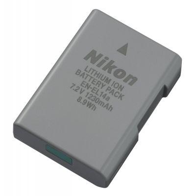 Nikon EN-EL14a Batteria Originale x P7800 P7700 P7000 P7100 D5300 D5200 D5100 D3100 D3200 D3300 Df