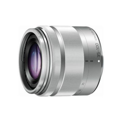 Obiettivo Panasonic LUMIX G VARIO 35-100mm F4.0-5.6 Silver Lens