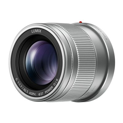 Obiettivo Panasonic Lumix G 42.5mm f/1.7 Asph. O.I.S Silver Lens