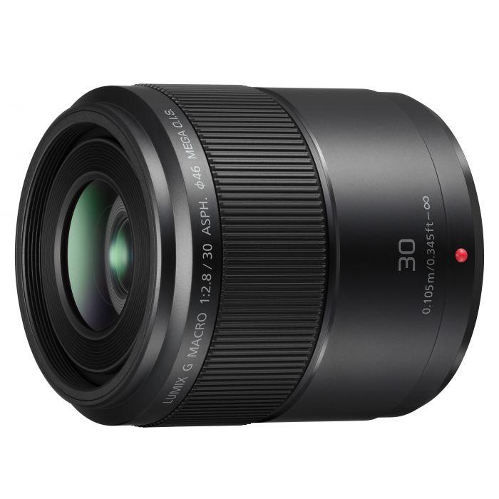 Obiettivo Panasonic Lumix G Macro 30mm f/2.8 Asph. O.I.S. Lens
