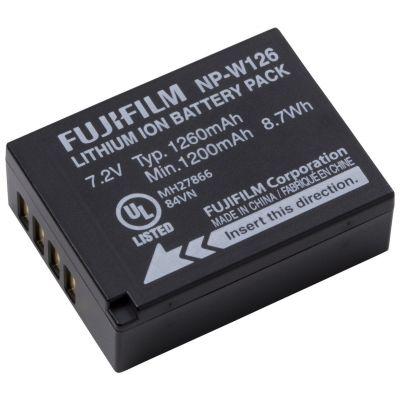 Fuji Fujifilm NP-W126 Batteria Originale x X-Pro1 X-T1 X-T10 X-E2 X-E1 X-M1 X-A2 X-A1 HS50EXR HS30EXR HS33EXR