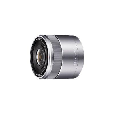 Obiettivo Sony E 30mm F3.5 Macro SEL30M35 Silver Lens