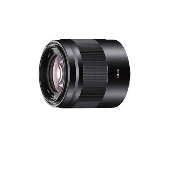 Obiettivo Sony E 50mm F1.8 OSS SEL50F18 Nero