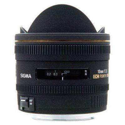 Obiettivo Sigma 10mm F2.8 EX DC FISHEYE HSM x Nikon Lens