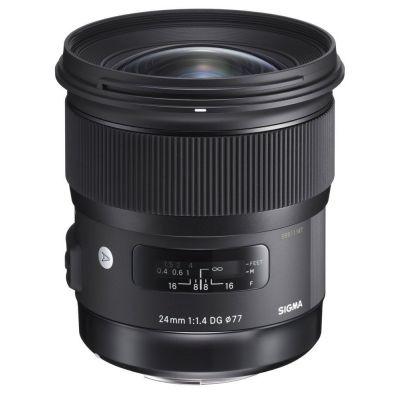 Obiettivo Sigma 24mm F1.4 DG HSM Art x Nikon Lens