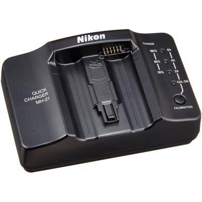 Nikon MH-21 Caricabatterie Originale x Batteria EN-EL4 EN-EL4a