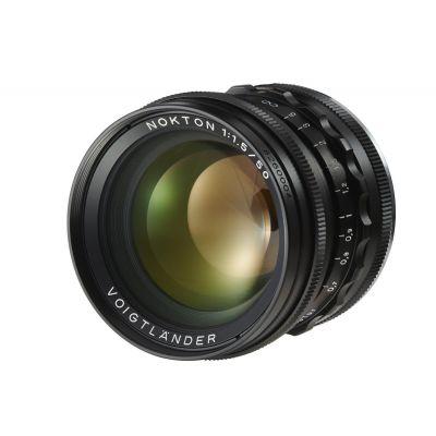 Obiettivo Voigtlander NOKTON 50mm F1.5 Aspherical VM x Minolta Leica M Nero