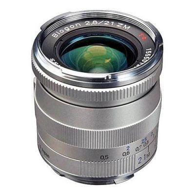 Obiettivo Carl Zeiss 21mm F/2.8 BIOGON T* ZM x Leica M Silver