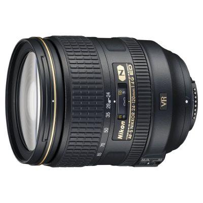Obiettivo Nikon AF-S NIKKOR 24-120mm F4 G ED VR Lens (bulk white box)