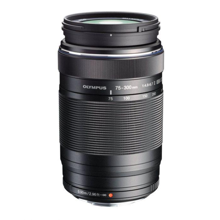 Obiettivo Olympus M.ZUIKO ED 75-300mm f/4.8-6.7 II Nero Lens 75-300