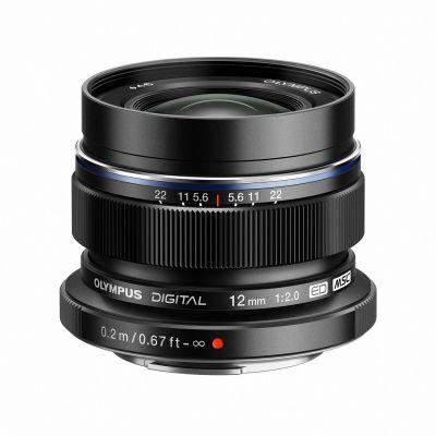 Obiettivo Olympus M.ZUIKO DIGITAL ED 12mm f2.0 Nero Lens