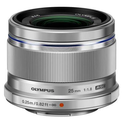 Obiettivo Olympus M.ZUIKO DIGITAL 25mm F1.8 Silver Lens