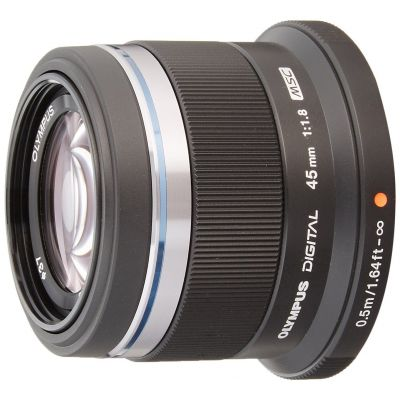 Obiettivo Olympus M.ZUIKO DIGITAL ED 45mm f/1.8 Nero Lens
