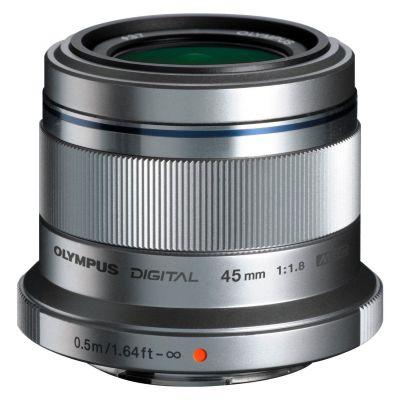 Obiettivo Olympus M.ZUIKO DIGITAL ED 45mm f/1.8 Silver Lens
