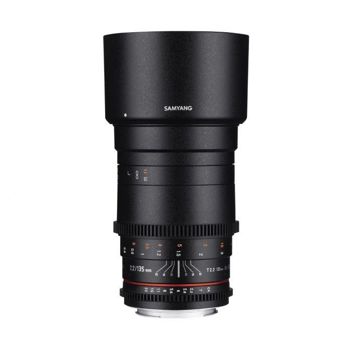 Obiettivo Samyang 135mm T2.2 ED UMC VDSLR Cine x Canon Lens