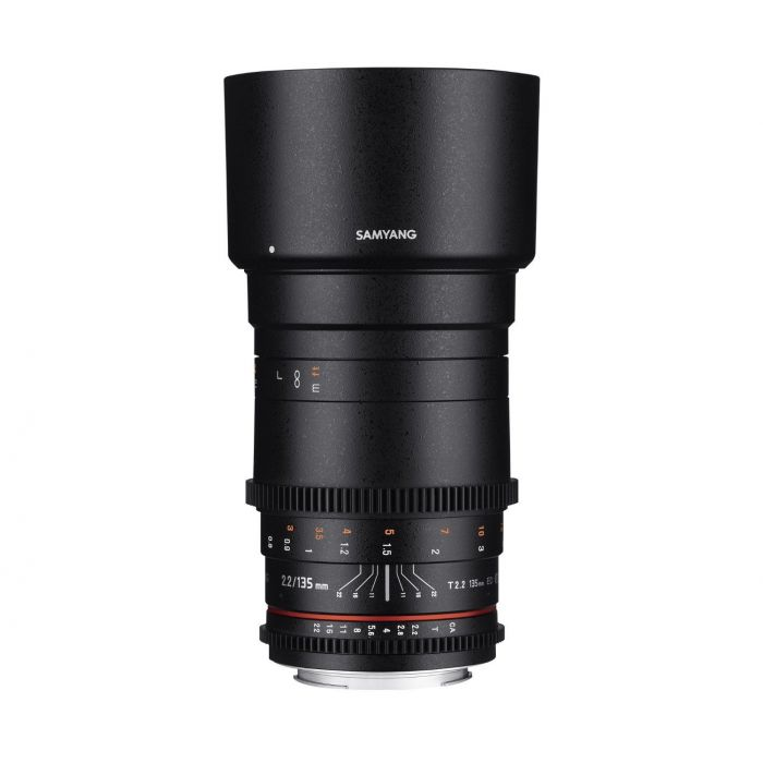 Obiettivo Samyang 135mm T2.2 ED UMC VDSLR Cine x Nikon Lens