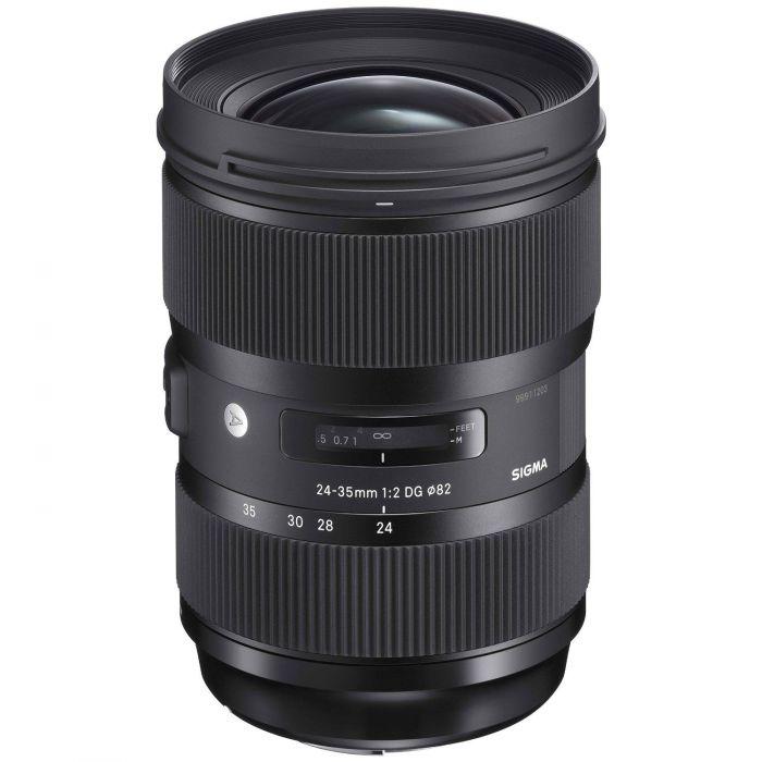 Obiettivo Sigma 24-35mm f/2 DG HSM Art x Canon