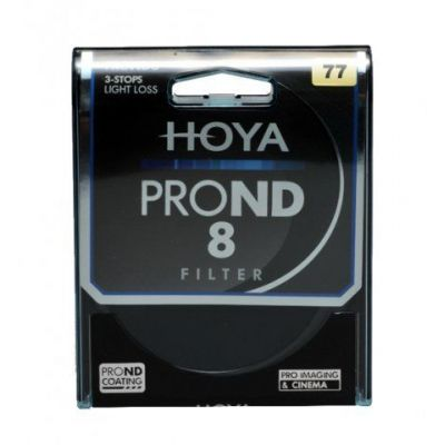 HOYA Filtro PRO ND X8 ND8 Neutral Density 77mm