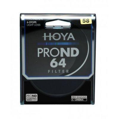 HOYA Filtro PRO ND X64 ND64 Neutral Density 58mm
