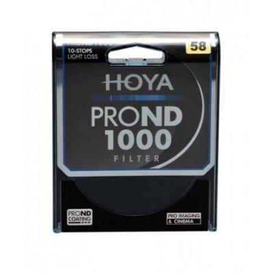 HOYA Filtro PRO ND X1000 ND1000 Neutral Density 58mm