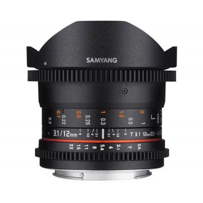 Obiettivo Samyang 12mm T3.1 VDSLR ED AS NCS Fisheye x Fuji Fujifilm X Lens