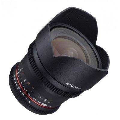 Obiettivo Samyang 10mm T3,1 x Canon VDSLR Video