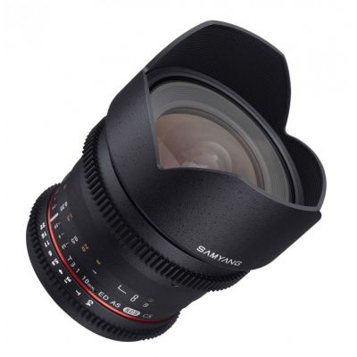 Obiettivo Samyang 10mm T3,1 x Pentax VDSLR Video