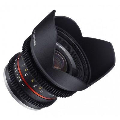 Obiettivo Samyang 12mm T2,2 NCS CS ASP ED x Canon EOS M VDSLR Video