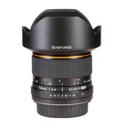Obiettivo Samyang 14mm F2,8 IF ED UMC Aspherical x Samsung NX