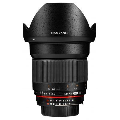 Obiettivo Samyang 16mm f/2.0 ED AS UMC CS x Canon