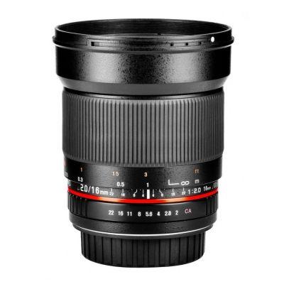 Obiettivo Samyang 16mm T2,2 ED AS UMC CS x Fujifilm Fuji X VDSLR Video