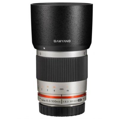 Obiettivo Samyang 300mm f/6.3 ED UMC ES x Canon EOS M Argento