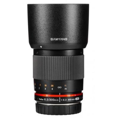 Obiettivo Samyang 300mm f/6.3 ED UMC ES x Fujifilm Fuji X Nero