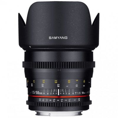 Obiettivo Samyang 50mm T1.5 AS UMC x Sony A VDSLR Video