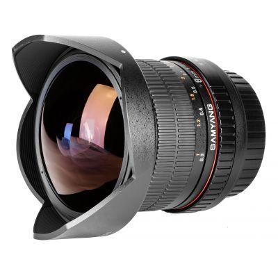 Obiettivo Samyang 8mm f/3.5 UMC Fish-eye CS II x Pentax