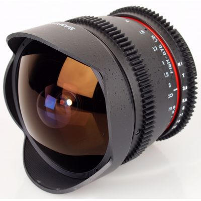 Obiettivo Samyang 8mm T3.8 Fish-eye x Nikon VDSLR Video