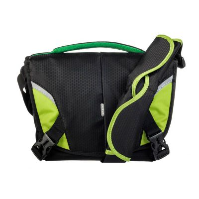Genesis Boston Borsa Custodia Tracolla Bag Nero/Lime