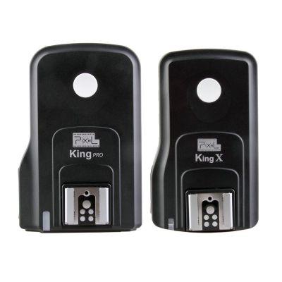 Pixel King PRO Wireless TTL Flash Trigger set ricevitore + trasmettitore x Nikon