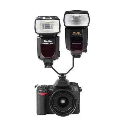 Genesis G2 dual hotshoe adattatore x flash trigger microfono
