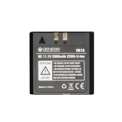 Genesis Stroboss VB-18 Li-ion batteria supplementare x flash Stroboss