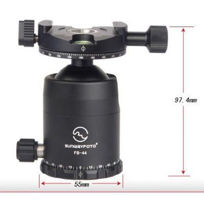 Sunwayfoto FB-44DDHi Testa per treppiedi con Panning Clamp DDH-02i