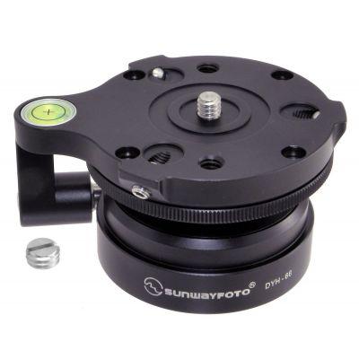 Sunwayfoto DYH-66i testa leveling base