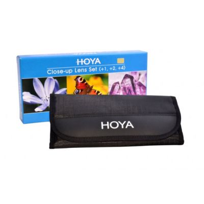 HOYA Close-Up Set (+1,+2,+4) 58mm HOY CUSH58