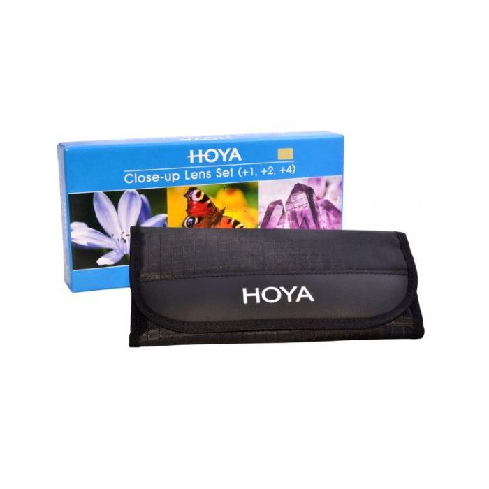 HOYA Close-Up Set (+1,+2,+4) 58mm HOY CUSH58