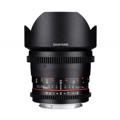 Obiettivo Samyang 10mm T3.1 ED AS NCS CS VDSLR x Sony E Lens