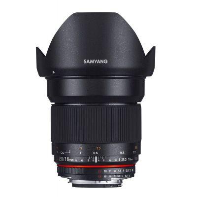 Obiettivo Samyang 16mm f/2.0 ED AS UMC CS x Micro Quattro Terzi M4/3 Lens